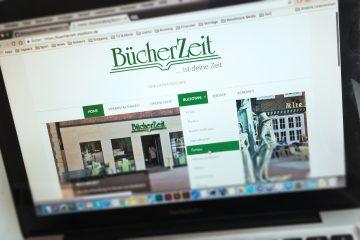 Relaunch der BücherZeit Website